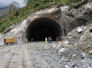 Rohtang Tunnel (Photo credit-unknown)