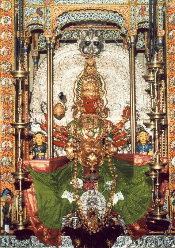 मरिकम्बा देवी की सुंदर मूर्ती