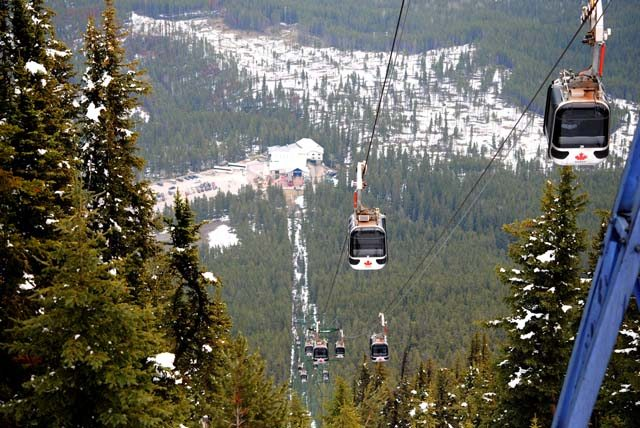 Gondola @ Sulphur mountain