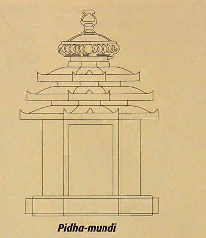 Pidha_mundi, picture taken from World Heritage Series on Konark