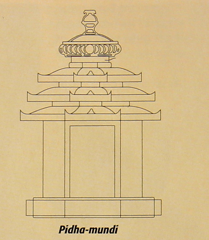 ... Gavaksh to the Ancient Indian Temple Architecture » Pidha_mundi