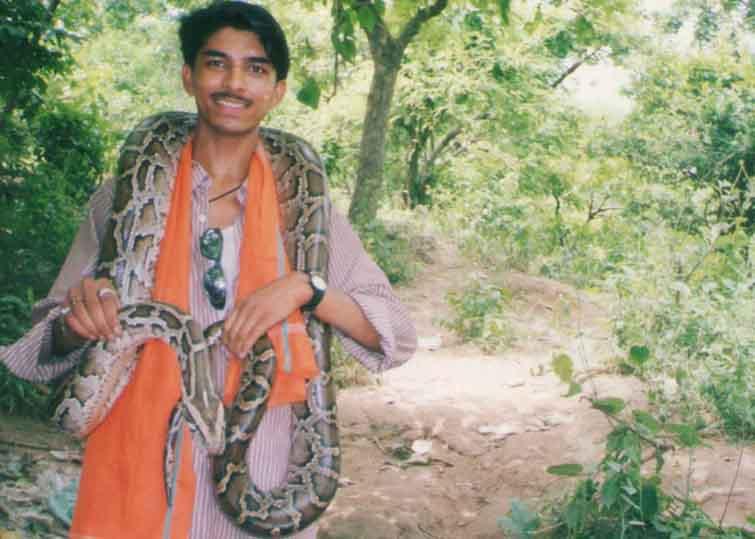 1999 में अजगर के साथ