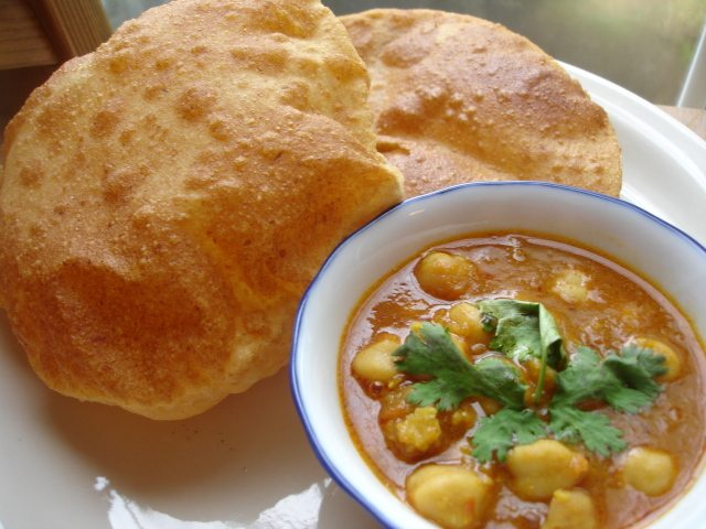 Poori Bhaji :- One of the dishes found almost everywhere in India.