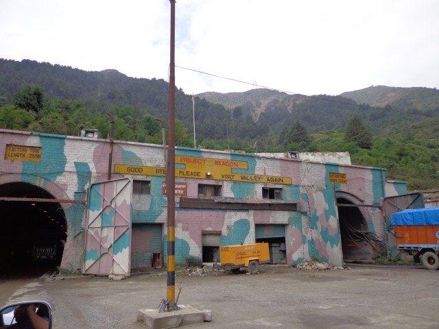 Jawahar Tunnel Located Jawahar Tunnel