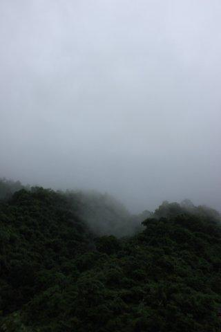 Cloud shroud just before leaving this magical monsoon palace