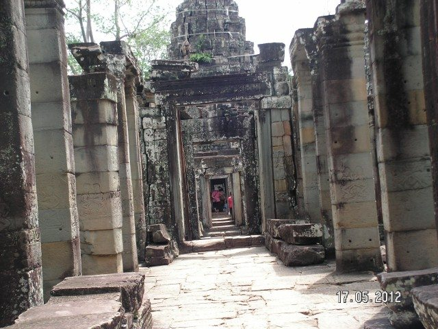 Interior Corridors of Ta Prohm