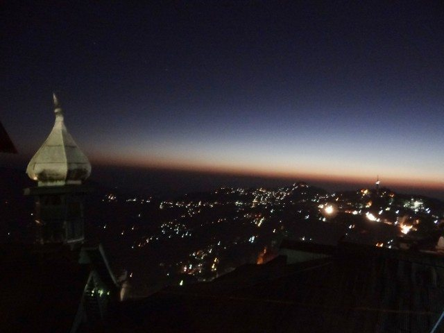 Shimla at night