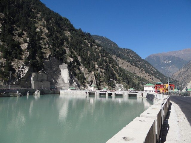 Karcham Reservoir