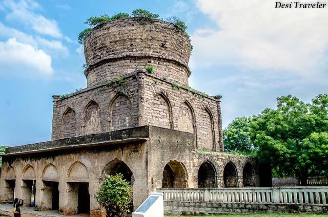 Unfinished Qutub Shahi Tomb 7 Tombs Hyderabad