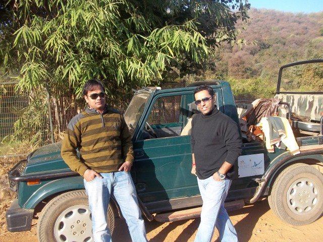 Me and Vinod