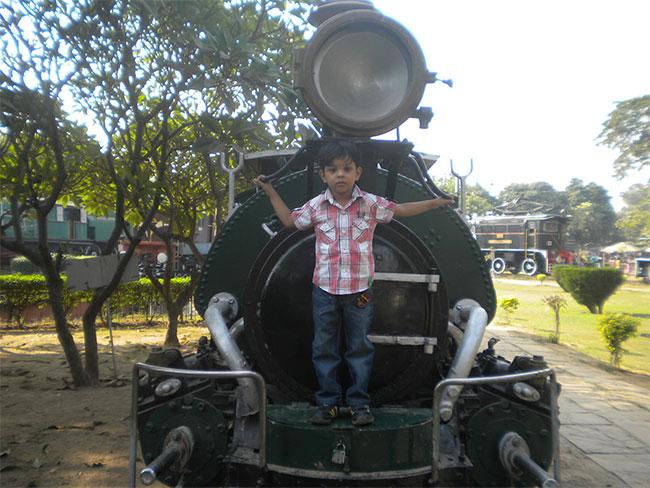 A working engine of Darjeeling Himalayan Railway