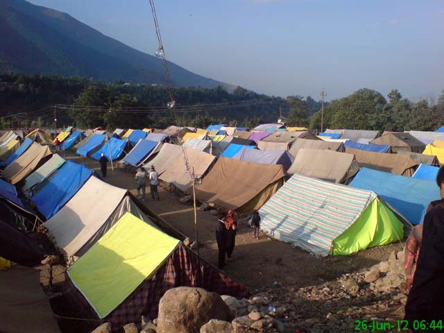 Manigoun base camp
