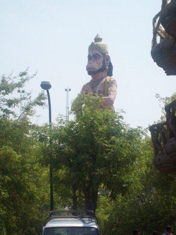Sitamarhi , Sita Samahit Sthal : Pawan Putra Hanuman Jee