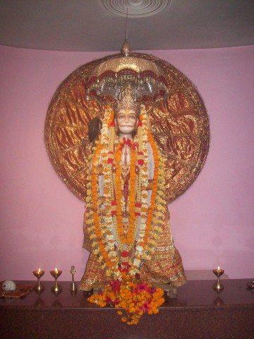 Sitamarhi , Sita Samahit Sthal : Hanuman idol