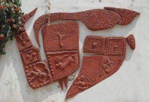 टैराकोटा की कलाकृतियां - उदयपुर