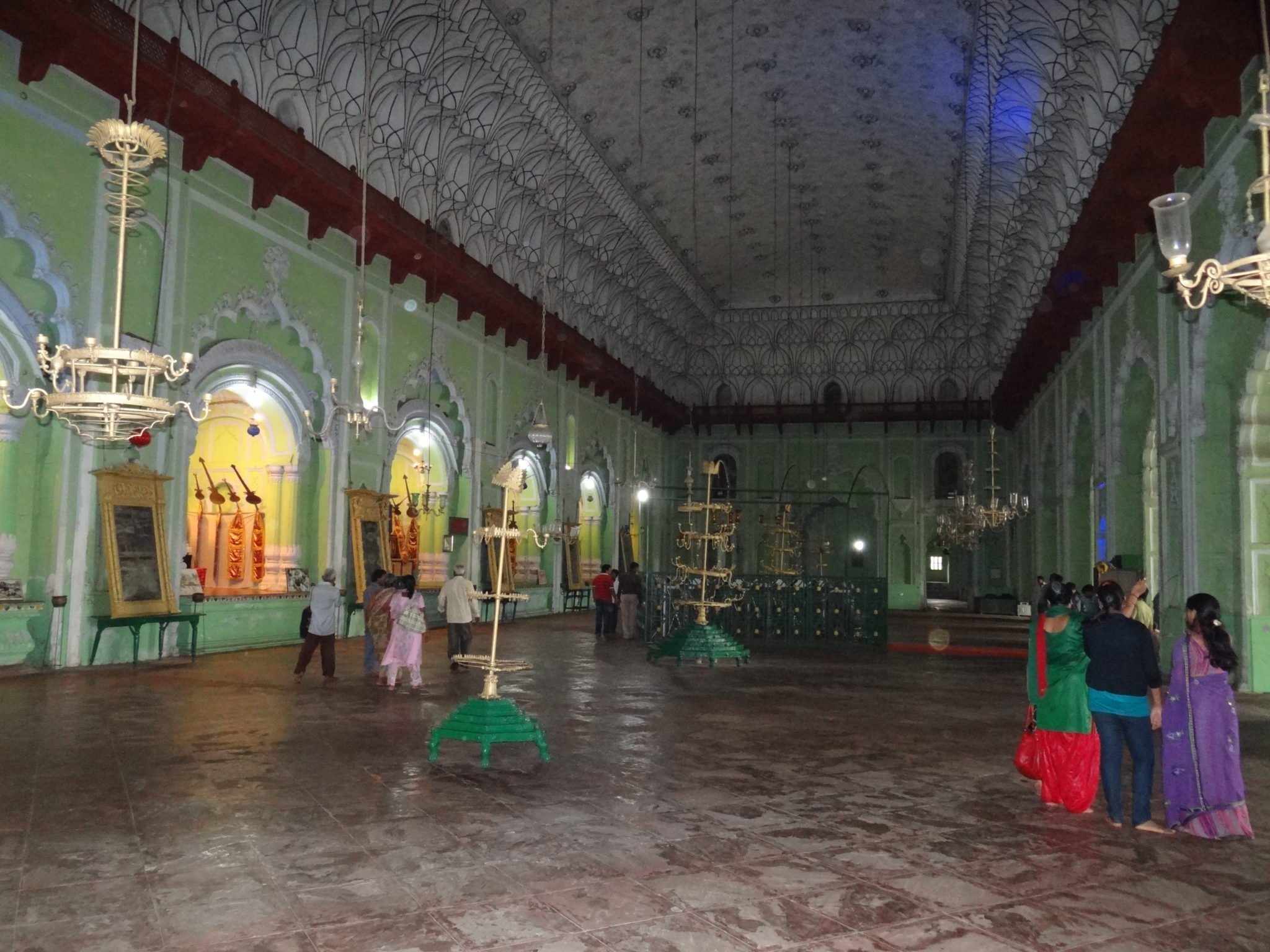 Central Vaulted Chamber with Nawab's Grave