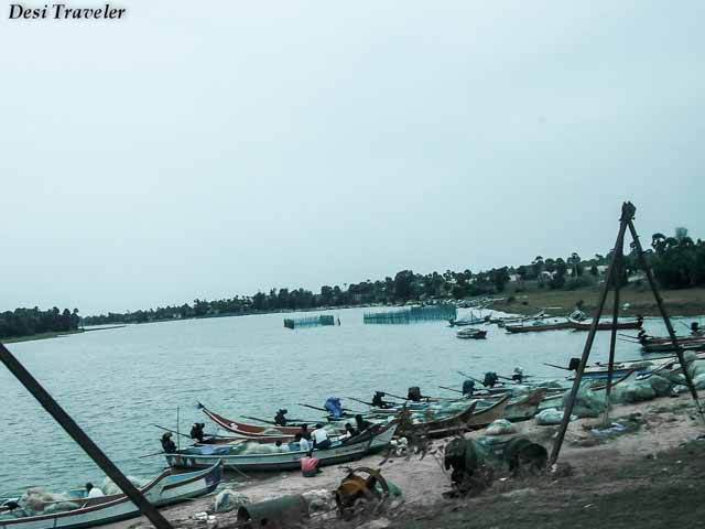 Fishing Village close to Alamparai Fort