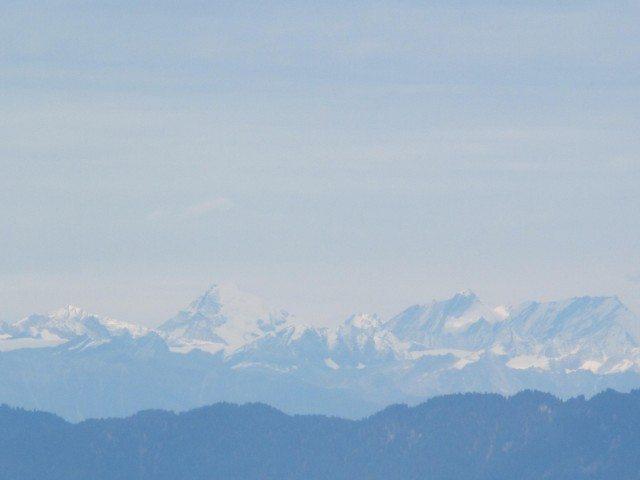 Himalayan Range from Kufri