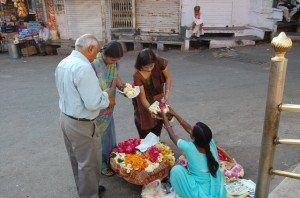 Flowers for Jagdish Temple - Udaipur