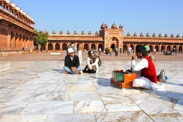 Neha and RRG at Fatehpur Sikri