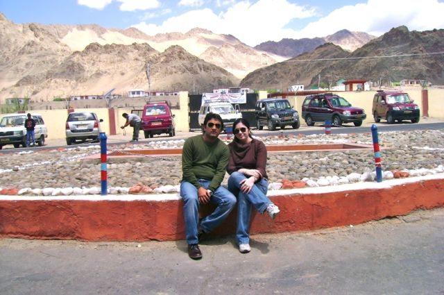 Neha and RRG at Leh