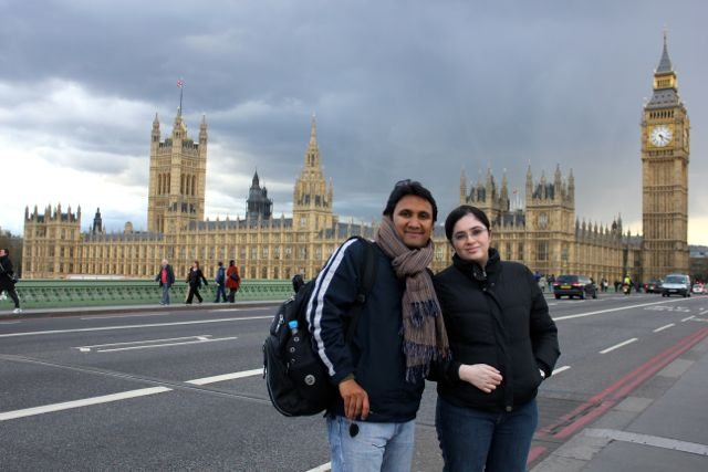 Neha and RRG at Westminster London