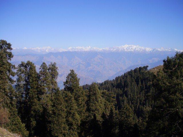 Pir Panjal range from Dalhousie