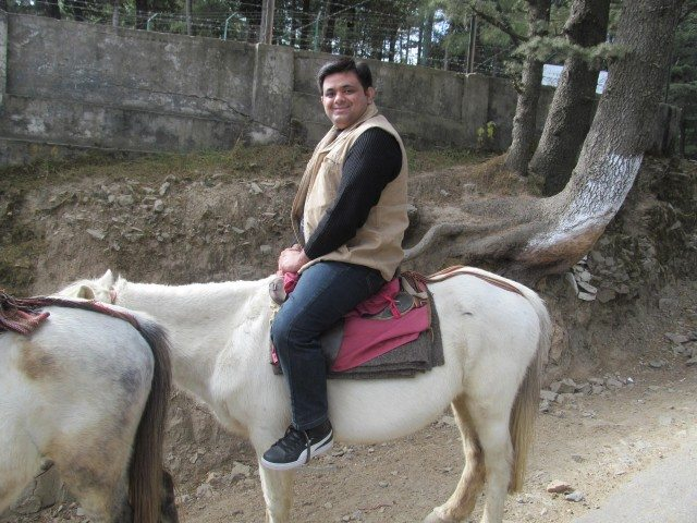 Only way of Transportation to Kufri
