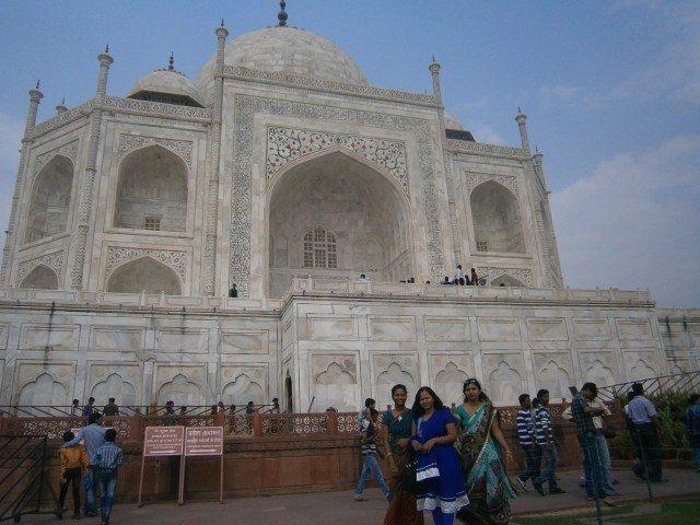 ताज महल करीब से