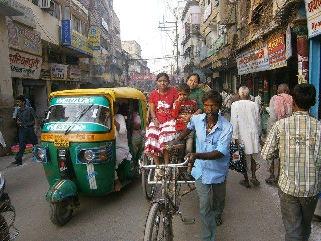 साइकिल रिक्शा ..........