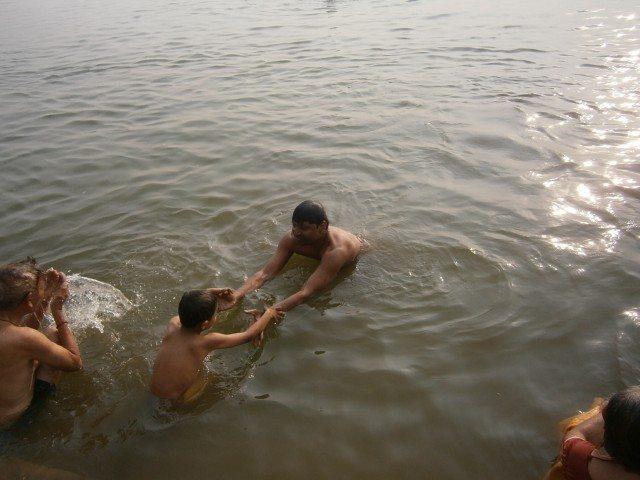 गंगा स्नान