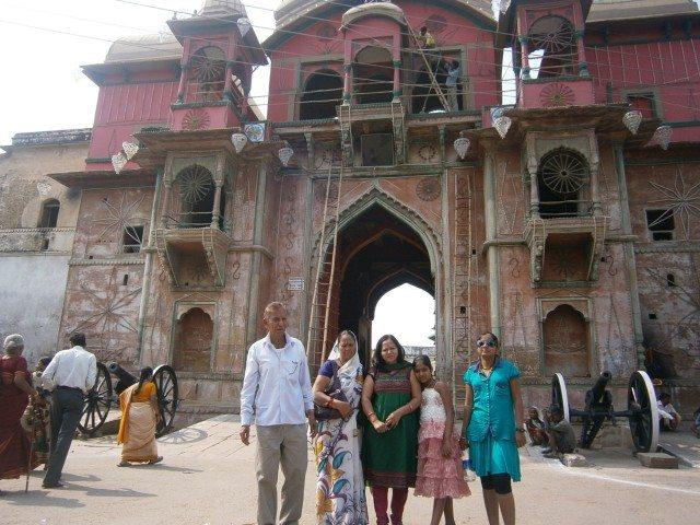 रामनगर का किला - प्रवेश द्वार
