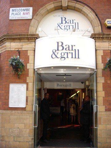 Marylebone Sports Bar