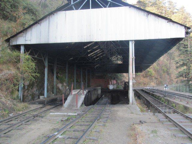 Railway Engine Repair Workshop