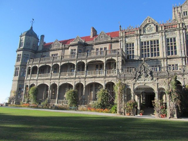 Rashtrapati Niwas, Observatory Hill, Shimla, the former Viceregal Lodge, completed in 1888 now the Indian Institute of Advanced Study