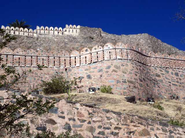 The massive fort