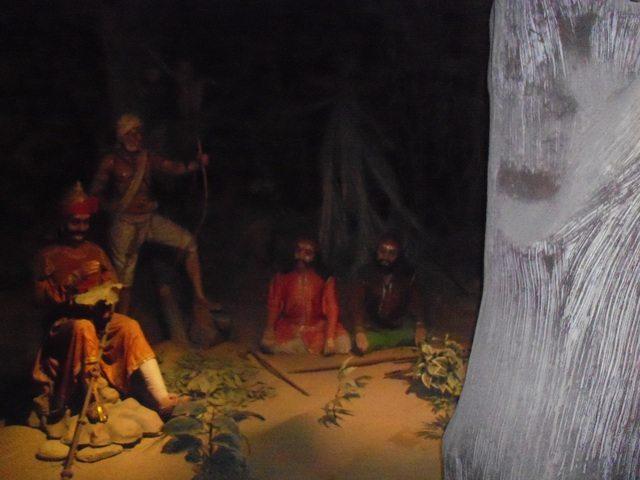 Maharana Pratap residing in the jungles