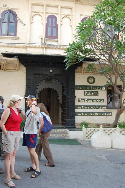 Majestic Fateh Prakash Heritage Hotel at City Palace
