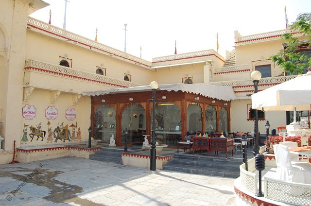Another view of Palkikhana Restaurant