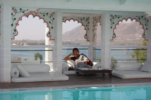 Swimming Pool at the Rooftop of Udai Kothi, Udaipur