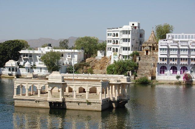 Our Hotel seen from Gangaur Ghat
