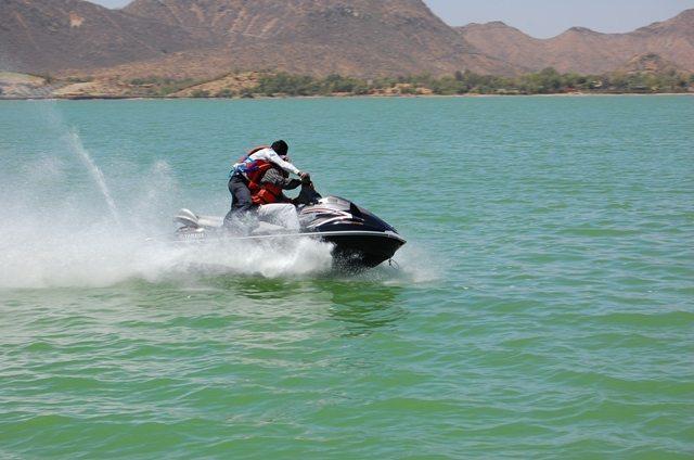 Water scooter ride in Fateh Sagar Lake