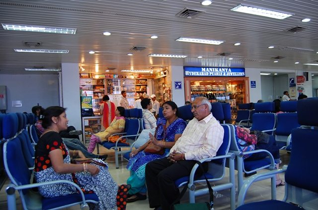 Waiting lounge at Udaipur Airport