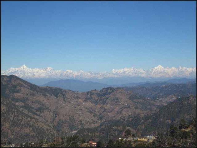 First view, as we moved towards Mukteshwar.