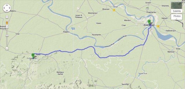 Allahabad to Chitrakoot