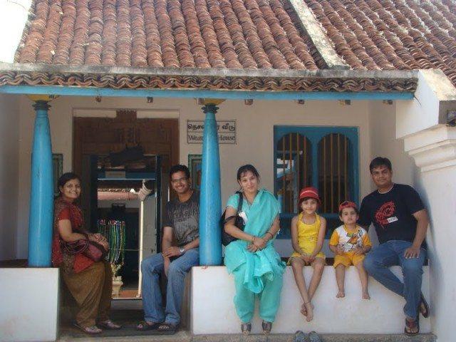 Weaver's Place at Kanchipuram