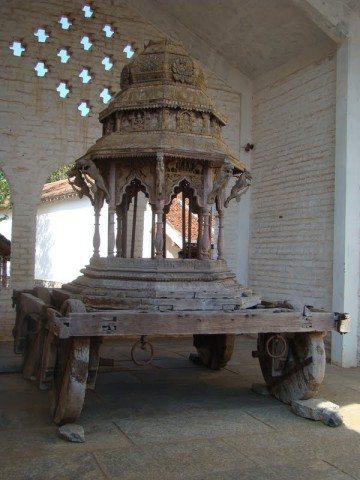 Rath near Ayyanar Shrine
