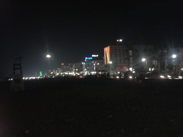 Puri City view from the Beach