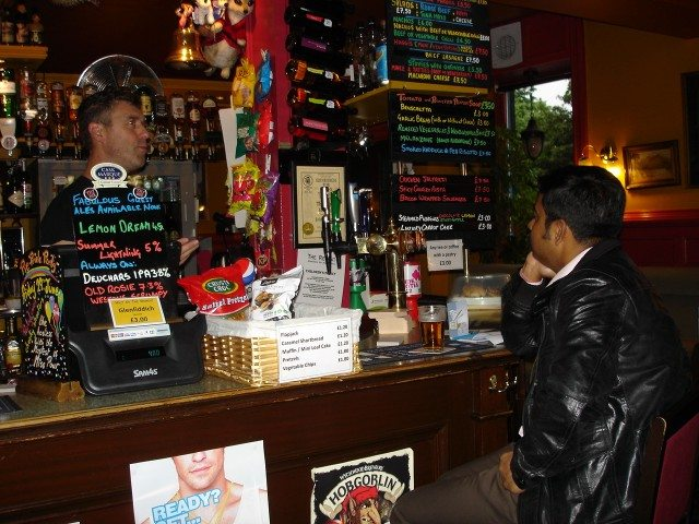 The helpful bartender