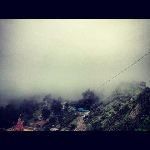 Sajjangarh Sanctuary - Cloud Cover